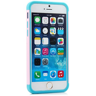 ФОТО 4.7 inch Rainbow Phone Skin Case Back Protective Cover of Silicone Material for iPhone 6
