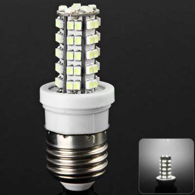 Sencart E27 5W White Light SMD 3528 68 - LED Corn Light (240Lm 6000 - 6500K)