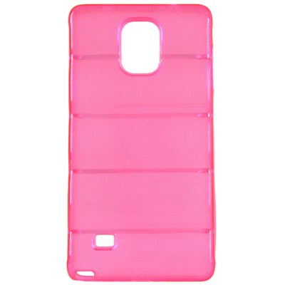 ФОТО High Quality Transparent TPU Material Pure Color Protective Back Cover Case for Samsung Galaxy Note 4 N910