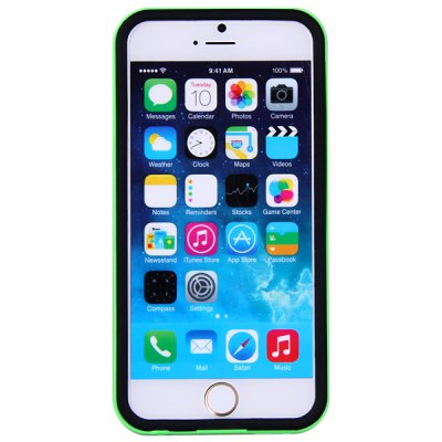 ФОТО Fashionable TPU and Plastic Material Back Cover Case for iPhone 6