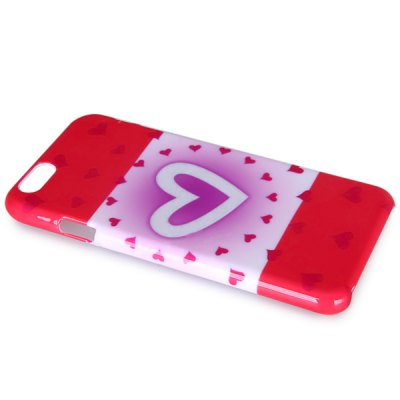 ФОТО Fashionable Heart Pattern PC Material Back Cover Case for iPhone 6