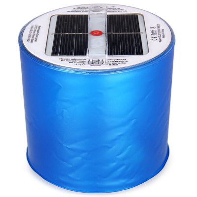 Гаджет   WBR - PC03 10 LEDs Inflatable Solar Lantern 90 Lumens Rechargeable Lamp Camping Emergency Outdoor Activities Supplies Outdoor Lanterns