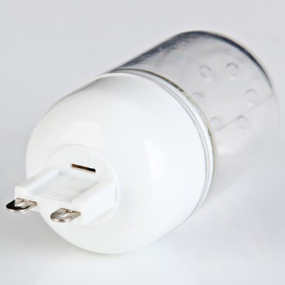 Sencart 5W G9 140LM 15 x SMD - 5730 Warm White LED Corn Lamp with Transparent Cover  -  AC 220 - 240V