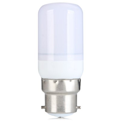 Sencart 5W B22 140LM 15 x SMD - 5730 White Light LED Corn Lamp with Frosted Cover  -  AC 220 - 240V