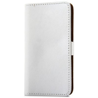 ФОТО Artificial Leather and Plastic Material Pure Color Protective Cover Case with Card Holder and Stand for iPhone 6