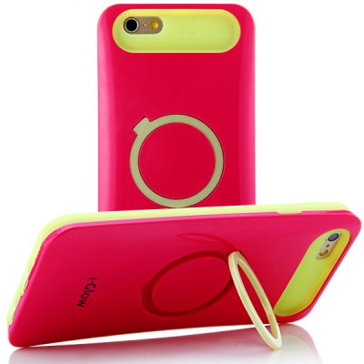 Multifunction 4.7 inch Silicone Nightglow Case Protective Bumper Cover Holder for iPhone 6