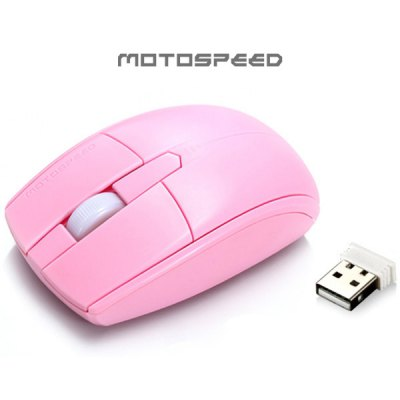 Motospeed G370 2.4GHz 1000DPI Wireless Optical Mouse