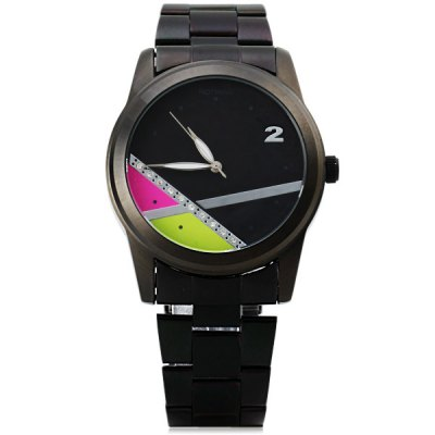 ФОТО Nothing 907 Female Japan Quartz Watch Round Dial Stainless Steel Strap