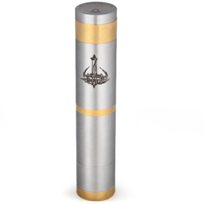 Гаджет   Nemesis Style Electronic Cigarette Stainless Steel + Copper 510 / EGO Thread Mechanical Mod Mechanical Mods