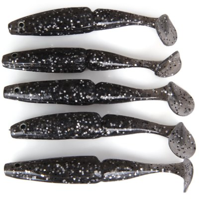 5Pcs Top Shad 80 Durable Fishing Bait Softlure Artificial Lure  -  12cm 11gFishing Baits and Hooks<br>5Pcs Top Shad 80 Durable Fishing Bait Softlure Artificial Lure  -  12cm 11g<br><br>Type: Soft Bait<br>Material: Soft plastic<br>Style: Fish<br>Features: Super Soft<br>Length (mm): 120mm<br>Color: Black, Green, Yellow<br>Product weight: 0.055 kg<br>Package weight: 0.100 kg<br>Product size (L x W x H): 12.0 x 1.2 x 1.5 cm / 4.7 x 0.5 x 0.6 inches<br>Package size (L x W x H): 16 x 14 x 2 cm<br>Package Contents: 5 x Fishing Bait
