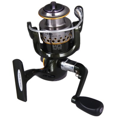 YF1000 Super Precise Drag System Fishing Reels10 Ball Bearings Winder Spool  -  One Way Clutch