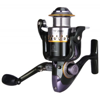 YF2000 Super Precise Drag System Fishing Reels 10 Ball Bearings Winder Spool  -  One Way Clutch