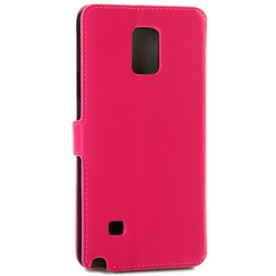ФОТО Artificial Leather and Plastic Material Protective Cover Case with Card Holder and Stand for Samsung Galaxy Note 4 N9100