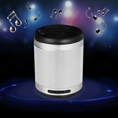 Momi I35 Multi - function Mini Wireless Bluetooth Loud Speaker Stereo Built - in Microphone Support AUX External Audio Input