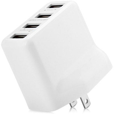US Standard Four USB Ports Charger Power Adapter