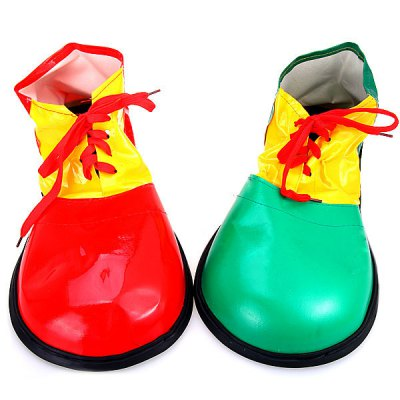 2Pcs Detail - oriented Halloween Clown Shoes Fancy Ball Christmas Cosplay Props Party Fools Day Decoration от GearBest.com INT