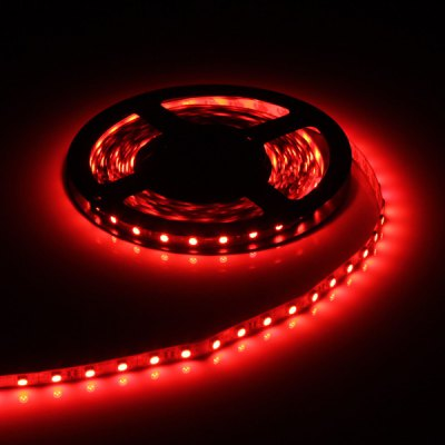 5M 75W 300-LED 5050 SMD Red Light LED Strip Light