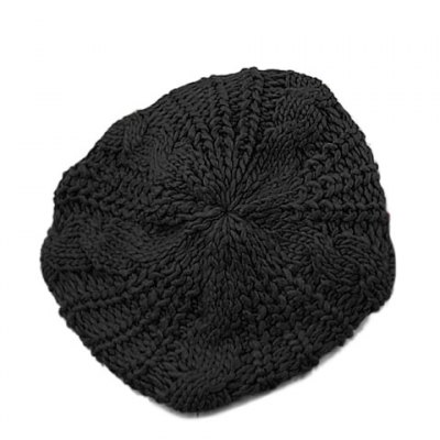 Stylish Chic Women's Solid Color Knitting Beret Hat