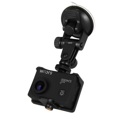 SJCAM SJ4000 WiFi IP68 Waterproof 1080P FHD 1.5 Inch LCD Car DVR Action Camera Sport DV with Car Charger and Bracket