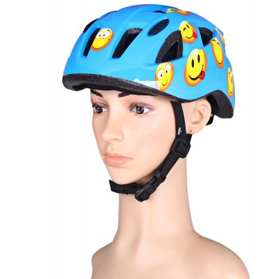 Aidy BJL - 002 Cool Kids Helmet Unibody Integrated Bike Cycling Hat with Adjustable Buckle