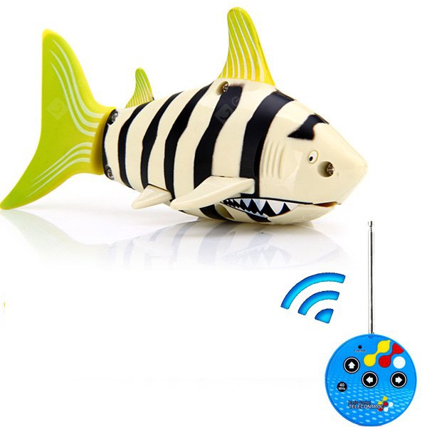 CC - 3310B Coke Can RC Mini Shark 3 CH Underwater Radio Control Full Function Toy