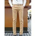Buy Casual Style Straight Leg Zipper Fly Personality Letters Embroidery Print Slimming Men's Cotton Blend Pants 2XL