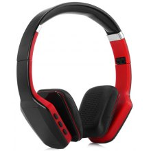NK-S650 Digital Screen Wireless MP3 Headphones Bluetooth Stereo Headset with FM Radio 3.5mm Jack