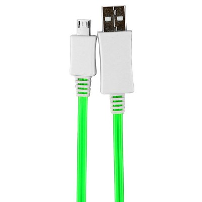 Гаджет   PZ - 27 High Quality 1m Luminous Micro USB Cable with LED Visible Light Samsung Cases/Covers