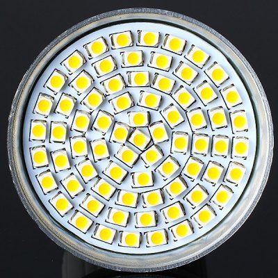 Sencart SMD 3528 72 LEDs 5W E27 Warm White Spot Lamp (280LM 3000 - 3500K)LED Light Bulbs<br>Sencart SMD 3528 72 LEDs 5W E27 Warm White Spot Lamp (280LM 3000 - 3500K)<br><br>Brand : Sencart<br>Base Type: E27<br>Type: Spot Bulbs<br>Output Power: 5W<br>Emitter Type: SMD-3528 LED<br>Total Emitters: 72 LED<br>Actual Lumen(s): 280Lm<br>Voltage (V): 85-265V<br>Features: Energy Saving, Low Power Consumption, Long Life Expectancy<br>Function: Studio and Exhibition Lighting, Home Lighting, Commercial Lighting<br>Available Light Color: Warm White, Cold White<br>Sheathing Material: Aluminum Alloy<br>Product Weight: 0.042 kg<br>Package Weight: 0.085 kg<br>Product Size (L x W x H): 5 x 5 x 7 cm / 1.97 x 1.97 x 2.76 inches<br>Package Size (L x W x H): 6 x 6 x 8 cm<br>Package Contents: 1 x Spot Light