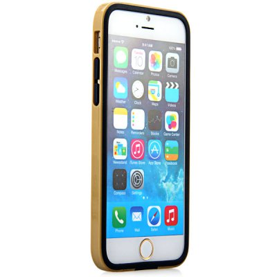 High Quality Frame Design TPU Protective Bumper Case for iPhone 6  -  4.7 inches