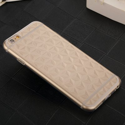 ФОТО USAMS Transparent TPU Material Rhombus Design Protective Back Cover Case for iPhone 6  -  4.7 inches