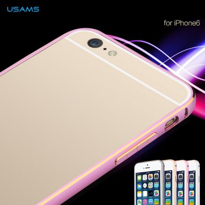 Гаджет   USAMS Novelty Frame Design Protective Bumper Case with Aluminium Alloy Material Design for iPhone 6  -  4.7 inches iPhone Cases/Covers
