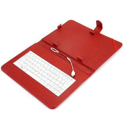 Гаджет   Protective Case with Stand Function Keyboard Tablet PCs