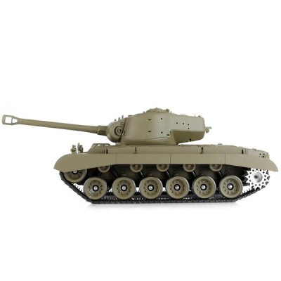 Snow Leopard 3838 3 Frequency Remote Control Battle Tank with StickerRC Cars<br>Snow Leopard 3838 3 Frequency Remote Control Battle Tank with Sticker<br><br>Type: Other RC Toys<br>Features: Radio Control<br>Functions: With light, Forward/backward, Turn left/right, Speed up<br>Material: Alloy, Plastic, Electronic components<br>Age: Above 14 years old<br>Remote Control: Radio Control<br>Control Distance: &gt;100m<br>Transmitter Power: 6 x 1.5V AA battery (not included)<br>Car Power: Built-in rechargeable battery<br>Charging Time: 4~6hours<br>Racing Time: &gt;10mins<br>Product Weight   : 1.886 kg<br>Package Weight  : 7.854 kg<br>Product Size (L x W x H)   : 49 x 22.5 x 18 cm / 19.3 x 8.9 x 7.1 inches<br>Package Size (L x W x H) : 56 x 27.5 x 25.5 cm<br>Package Contents: 1 x Remote Tank, 1 x Controller, 1 x Antenna, 2 x Pack of Spare Parts, 1 x EU Adapter, 1 x Rechargeable Battery, 1 x Paper Target, 1 x Box of Bullet, 1 x User Manual