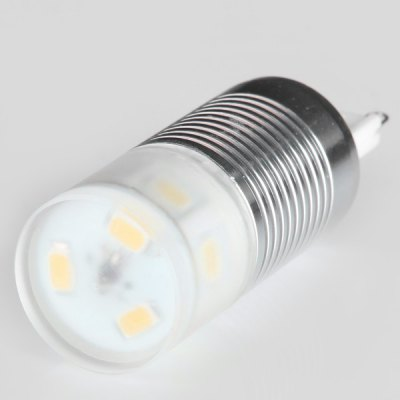 G9 4W 320LM SMD 5730 9 - LED Corn Lamp with Lamp Shade  -  Warm White Light