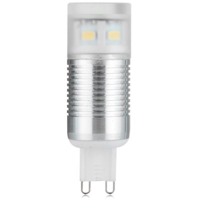 G9 320LM SMD 5730 9-LED Corn Lamp with Cover Warm White Light