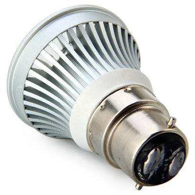 Sencart B22 3W Non Dimmable LED COB Spotlight Bulb (150LM 2900 - 3200K)LED Light Bulbs<br>Sencart B22 3W Non Dimmable LED COB Spotlight Bulb (150LM 2900 - 3200K)<br><br>Brand : Sencart<br>Base Type: B22<br>Type: Spot Bulbs<br>Output Power: 3W<br>Actual Lumen(s): 150Lm<br>Voltage (V): 85-265V<br>Features: Long Life Expectancy, Energy Saving, Low Power Consumption<br>Function: Home Lighting, Commercial Lighting, Studio and Exhibition Lighting<br>Available Light Color: Cold White, Warm White<br>Sheathing Material: Aluminum Alloy<br>Product Weight: 0.053 kg<br>Package Weight: 0.1 kg<br>Product Size (L x W x H): 4.8 x 4.8 x 6.3 cm / 1.89 x 1.89 x 2.48 inches<br>Package Size (L x W x H): 6 x 6 x 7.5 cm<br>Package Contents: 1 x Spot Light