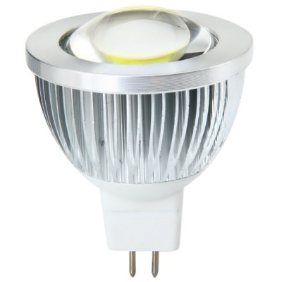 Sencart MR16 150Lm 3W 5900 - 6200K Convex LED COB Spotlight Bulb  -  AC 12VLED Light Bulbs<br>Sencart MR16 150Lm 3W 5900 - 6200K Convex LED COB Spotlight Bulb  -  AC 12V<br><br>Brand : Sencart<br>Base Type: MR16<br>Type: Spot Bulbs<br>Output Power: 3W<br>Actual Lumen(s): 150Lm<br>Voltage (V): AC 12<br>Appearance: Convex Lens<br>Features: Energy Saving, Low Power Consumption, Long Life Expectancy<br>Function: Commercial Lighting, Studio and Exhibition Lighting, Home Lighting<br>Available Light Color: Warm White, Cold White<br>Sheathing Material: Aluminum Alloy<br>Product Weight: 0.038 kg<br>Package Weight: 0.085 kg<br>Product Size (L x W x H): 4.6 x 4.6 x 5.7 cm / 1.81 x 1.81 x 2.24 inches<br>Package Size (L x W x H): 6 x 6 x 7.5 cm<br>Package Contents: 1 x Spot Light