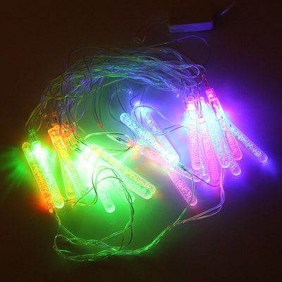 Гаджет   20 - LED 110V 4m Popsicle - shaped RGB String Light with US Plug for Christmas Ornament LED Strips