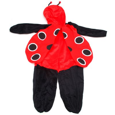 Halloween Props Ladybird StyleJumpsuits for Children Party Decoration CosplayHalloween Supplies<br>Halloween Props Ladybird StyleJumpsuits for Children Party Decoration Cosplay<br><br>Type: Halloween Props<br>Features: Ladybird Style Jumpsuits<br>For: Student, Kids<br>Usage: Performance, Stage, Others, Party<br>Product weight: 0.267 kg<br>Package weight : 0.320 kg<br>Package size (L x W x H): 28 x 22 x 8 cm<br>Package Contents: 1 x Jumpsuits