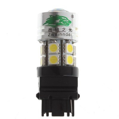 Zweihnder 1pc 3156 8W 750lm White Light 1 CREE XP - E + 12 SMD 5050 LEDs Car Backup Light with Convex Glass (12  -  24V)Car Lights<br>Zweihnder 1pc 3156 8W 750lm White Light 1 CREE XP - E + 12 SMD 5050 LEDs Car Backup Light with Convex Glass (12  -  24V)<br><br>Brand: Zweihnder<br>Model  : Z-3156-8W<br>Type   : Reverse Lights<br>Connector: 3156<br>LED type: Cree XP-E, SMD 5050<br>LED/Bulb quantity: 13<br>Emitting color : White<br>Color temperature: 6000-6500K<br>Voltage : 12V-24V<br>Power : 8W<br>Lumens: 750lm<br>Material  : Aluminum, ABS<br>Type of lamp-house : LED<br>Apply lamp position: External Lights<br>Product weight   : 0.015 kg<br>Package weight   : 0.085 kg<br>Product size (L x W x H)  : 5.6 x 2.1 x 2.1 cm / 2.2 x 0.82 x 0.82 inches<br>Package size (L x W x H)  : 10.5 x 5.5 x 5.5 cm<br>Package Contents: 1 x Car Light