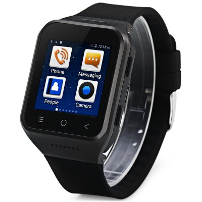 ZGPAX S8 3G Android 4.4 with 1.54 inch Touch Screen Smart Watch Phone MTK6572 Du