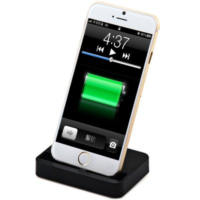 High Quality 8 Pin Output Mobile Phone Charger Dock Cradle for iPhone 6 / 6 Plus 5 5S