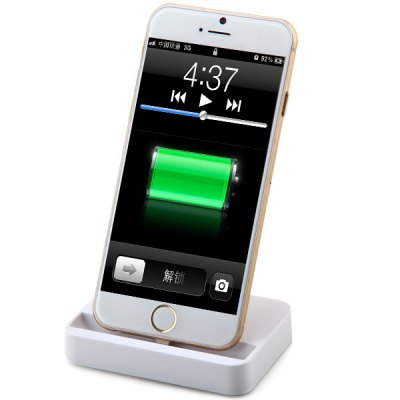 8 Pin Output Phone Charger Dock for iPhone 6 / 6 Plus 5 5S