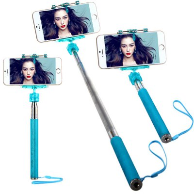 m 335 fashionable selfie stretch stick monopod with rotating clip stand online shopping. Black Bedroom Furniture Sets. Home Design Ideas