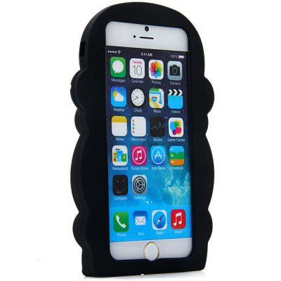 ФОТО Fashionable Monkey Pattern Silicone Material Back Cover Case for iPhone 6  -  4.7 inches
