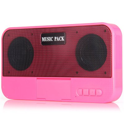 Y - 01 2 In 1 Pocket MIC Wireless Bluetooth Radio Speaker With 5200mAh