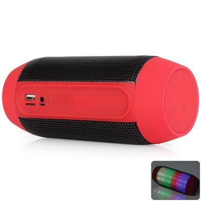 Wireless Bluetooth Speaker with Colorful LED Light Disc Dancing