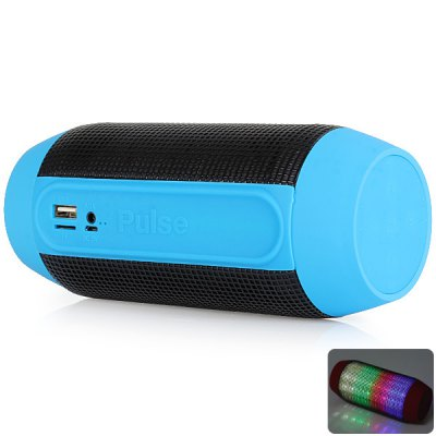 Гаджет   Wireless Bluetooth Speaker with Colorful LED Light Disc Dancing Speakers