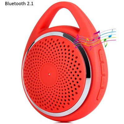 Y - 19 Portable HiFi Outdoor Wireless Bluetooth 2.1 Loud Speaker Built - in Microphone with Buckle for iPhone 6 / 6 Plus 5S 5C 5 4S 4